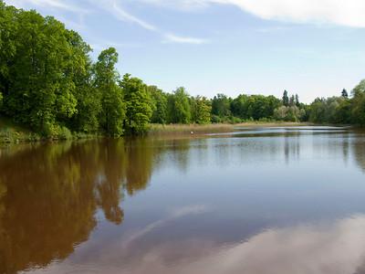 The lower pond. Petrovslii park, 5