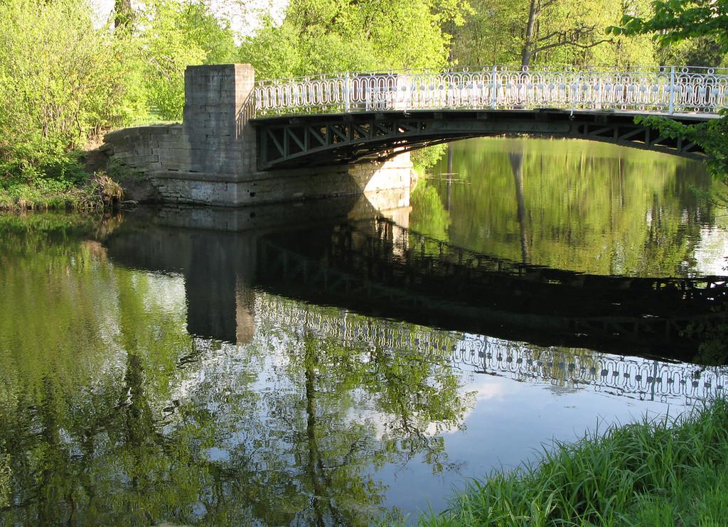 Cervine Bridge near Rose Pavilion