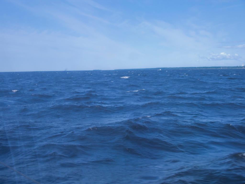 Gulf of Finland; view through illuminator