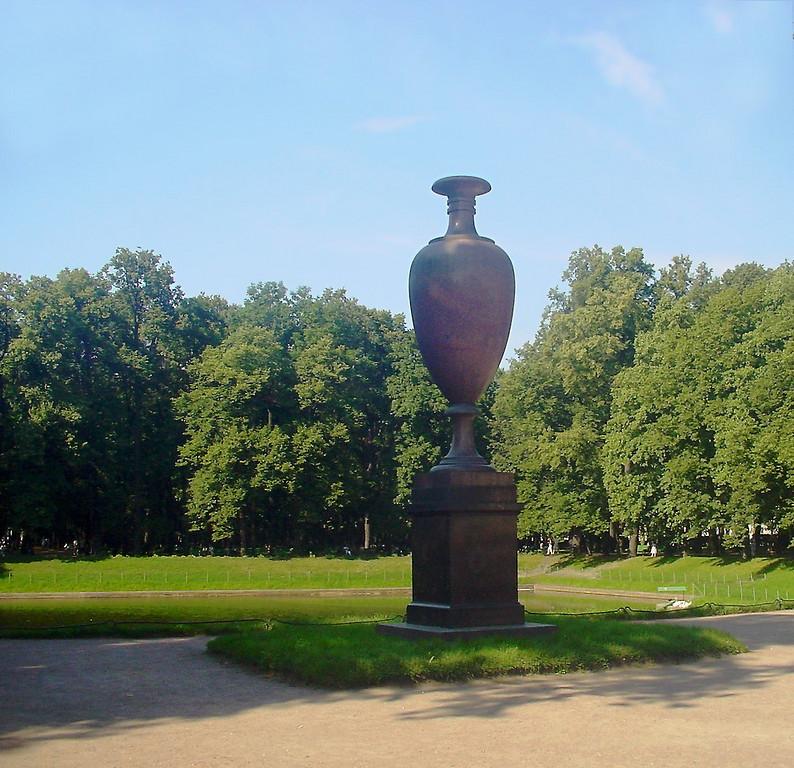 Swedish vase in the Summer Garden