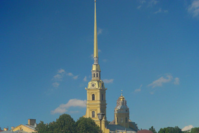 Spire of Peter and Pavel Cathedral