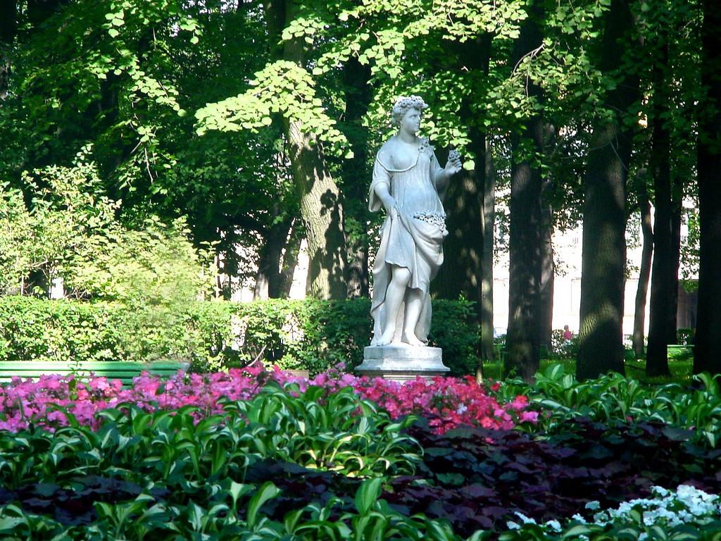 Sculpture in the Summer Garden