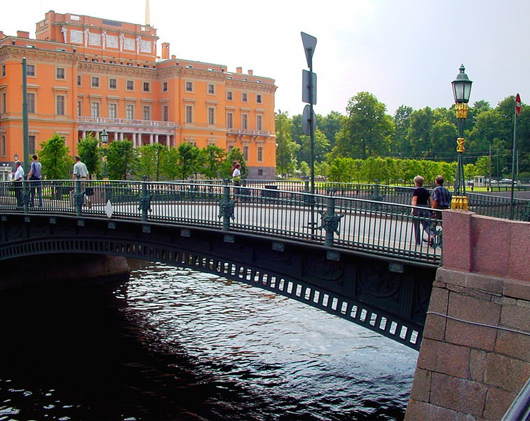 Bridge at the Engineering (Mikhailovskii) castle
