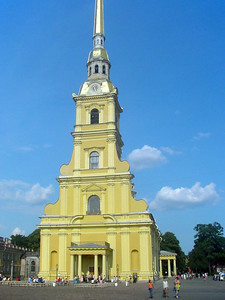 Peter and Pavel Cathedral
