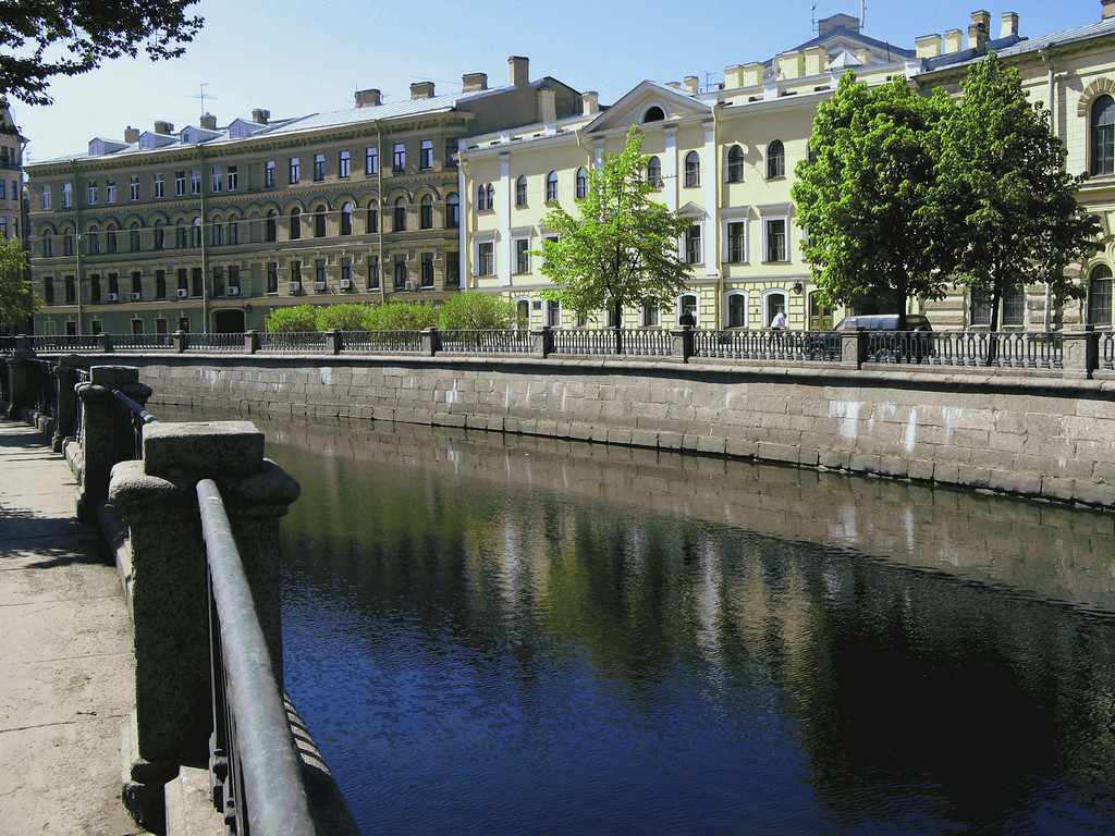 Embankment of Griboedov canal