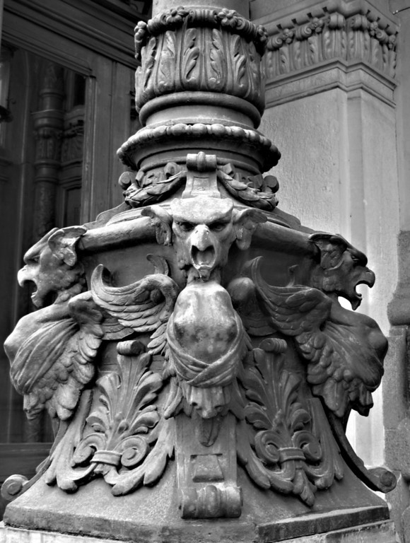 Griffin. Column of Scientists' House.