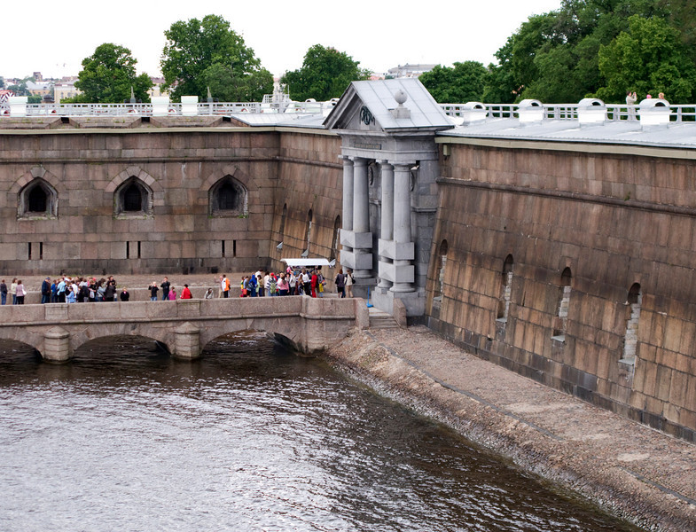 Peter and  Pavel Fortress, Neva Gate