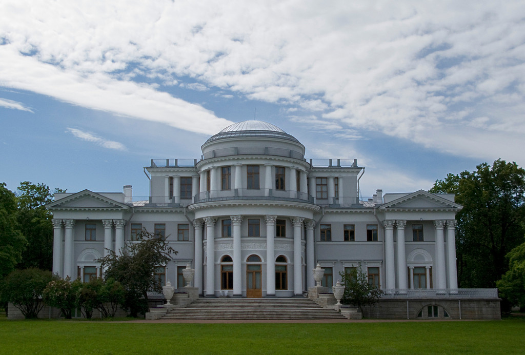 Elagin island,  Palace