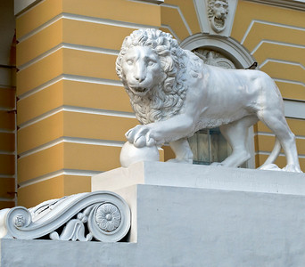 Lion at the Russian Museum