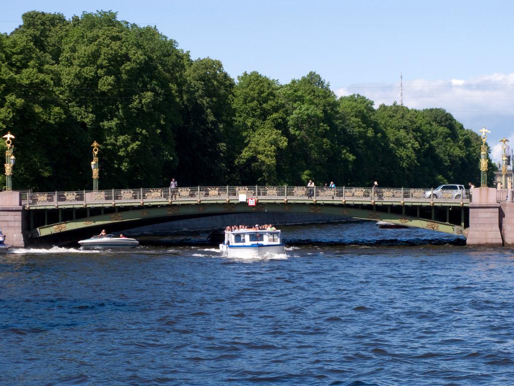 Petersburg, Fontanka, Panteleimon bridge
