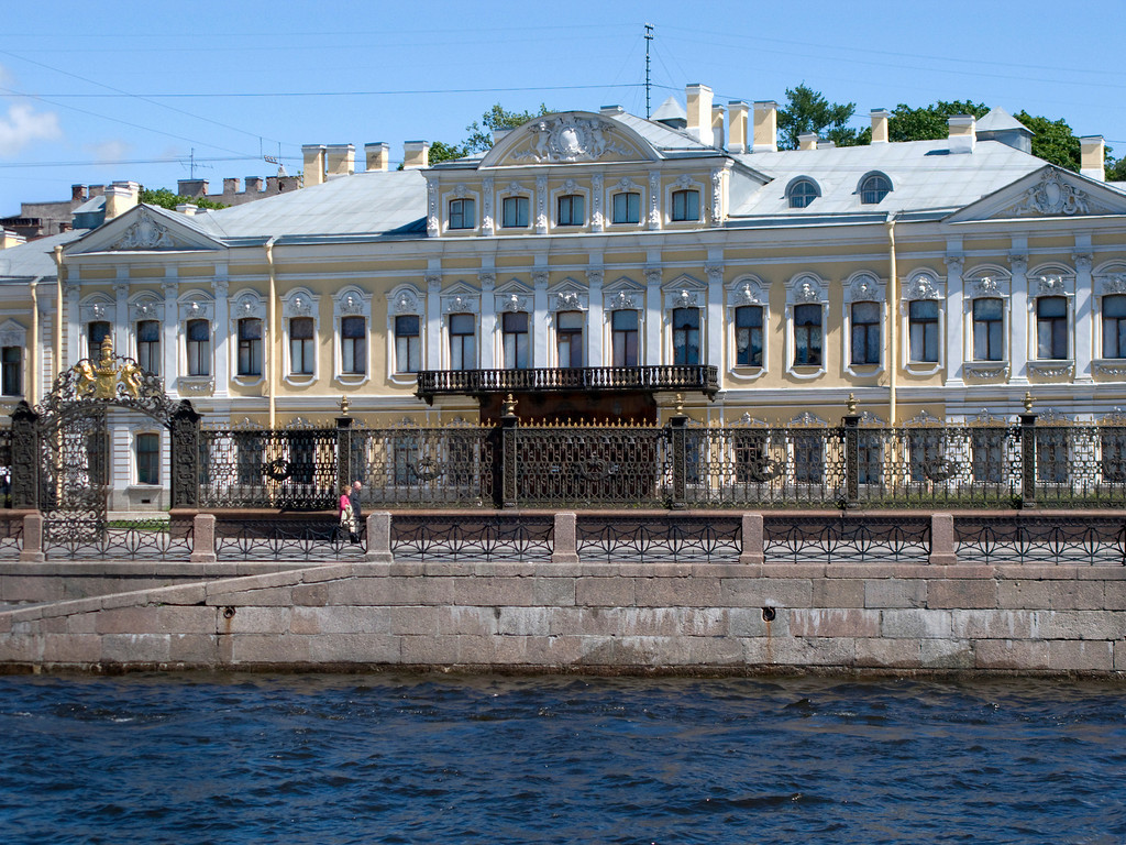 Fontanka embankment, Sheremet'ev Palace