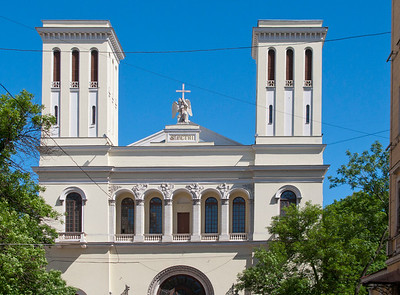 The Lutheran Church by Peter and Pavel.( Malaya Sadovaya Str.)