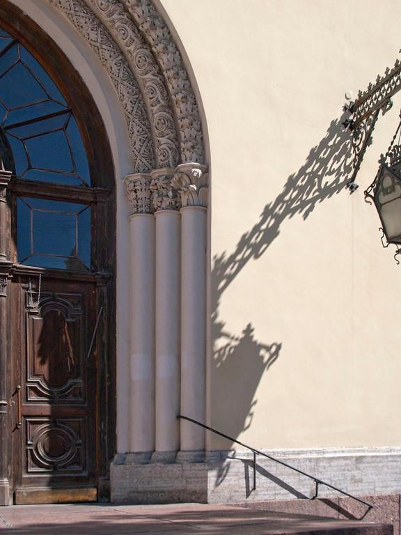 The Lutheran Church by Peter and Pavel.( Malaya Sadovaya Str.) Fragment.