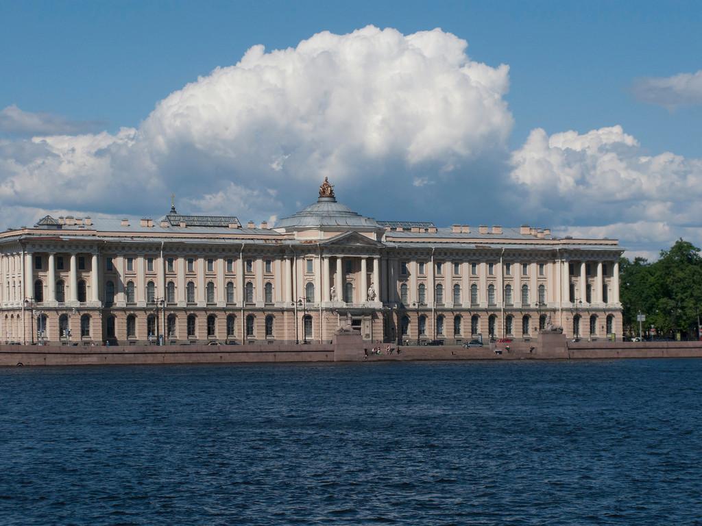 Neva embankment, Anademy of Arts