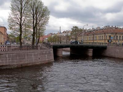Pikalov bridge. Kryukov Canal