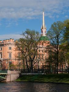 Engineers' Castle (Mikhaylovskiy Castle). Moika.