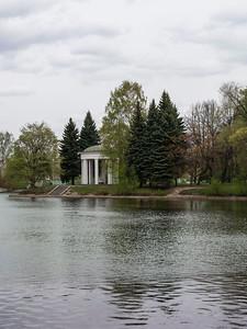 Rotunda in the Maritime Pobeda Park