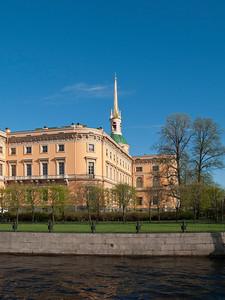 Engineers' Castle ( Mikhaylovskiy Castle). Moika.