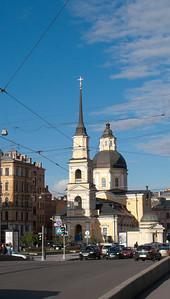 Church by Sant Simeon & Anna