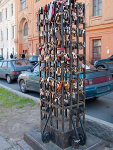 On Moika embankment (locks)