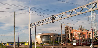 Entry into Petersburg on Petergof' highway