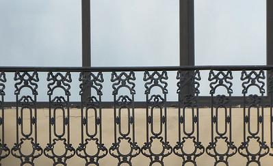 Grilel of balkony (Moika embankment)