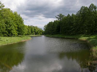 Ekaterina park. Grand Pond.