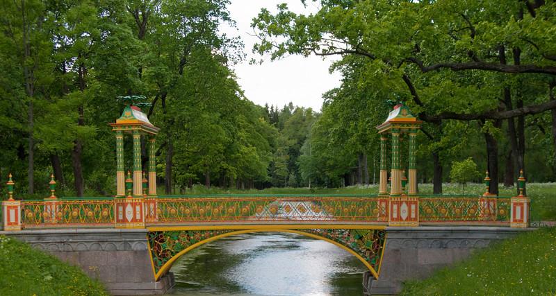 Alexander park. China bridge
