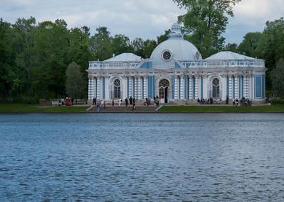 Pavilion Grot. Ekaterina park.