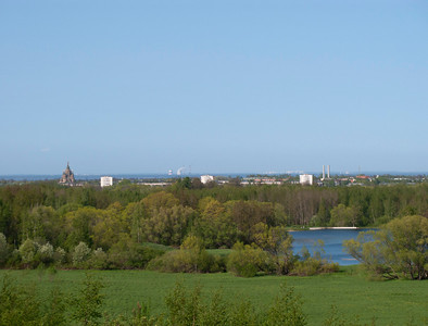 View from Belvedere hill.