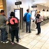 In Minneapolis customers were using the electronic kiosks to order food at McDonald's.