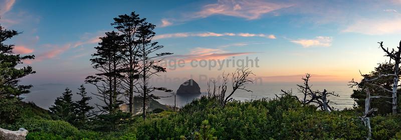 Cape Kiwonda Haystack Rock Sunset 18a