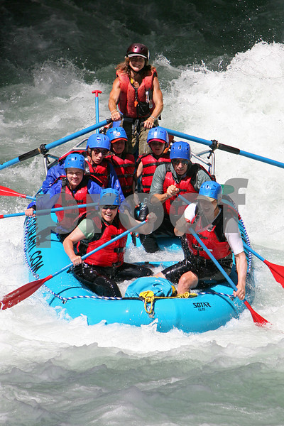 River Rafters on White Salmon River. Restricted release form on file with rafting company.