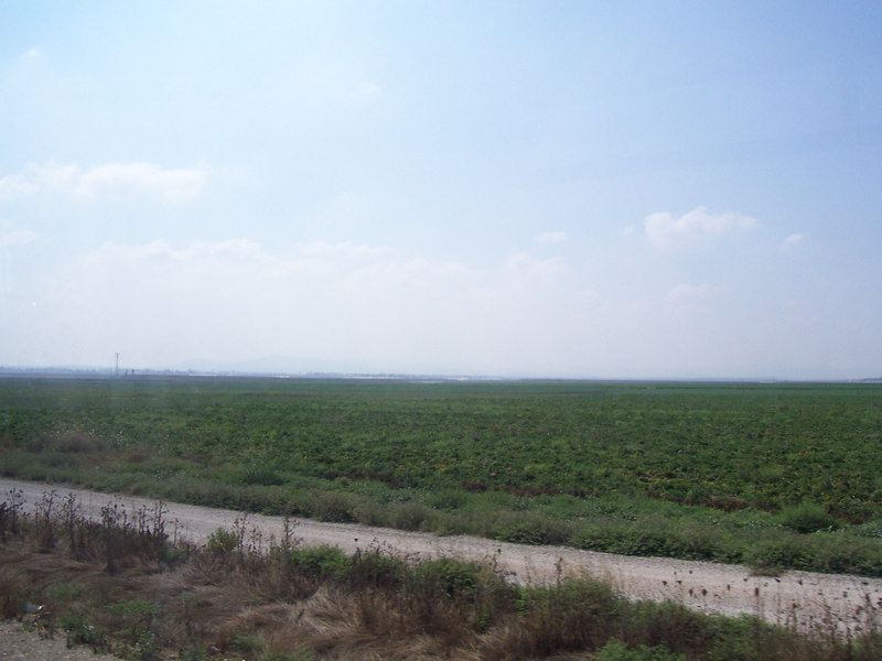Part of the plain of Armageddon, where Good and Evil will do battle and reality TV shows will finally perish.  But for now, its a lot of farmland.  Kind of anti-climatic, but belief enhances the meaning of this place- like a lot of places in Israel.
