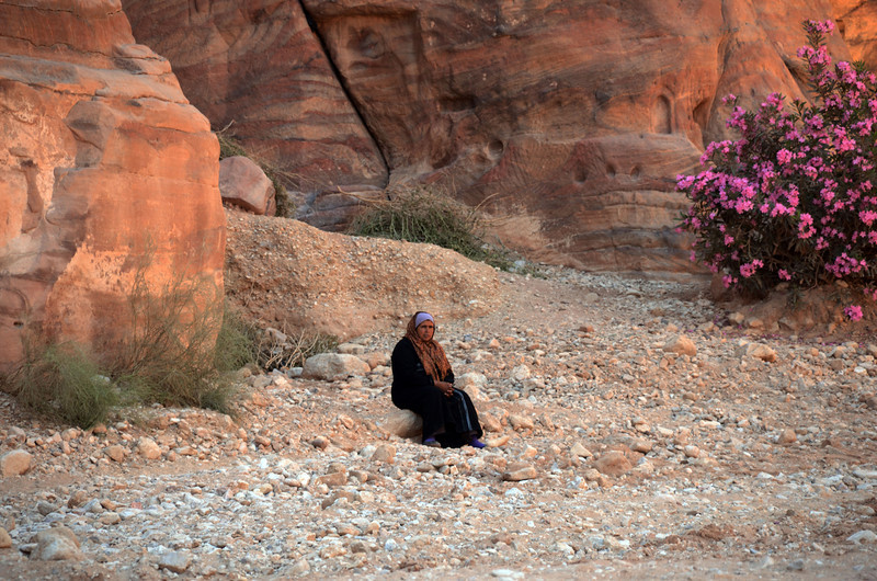 Bedouin Woman at Petra
