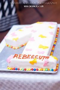 Rebecca - (aniversare 1 an)