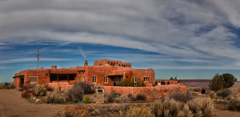 Painted Desert Inn,  Petrified Forest National Park, Arizona