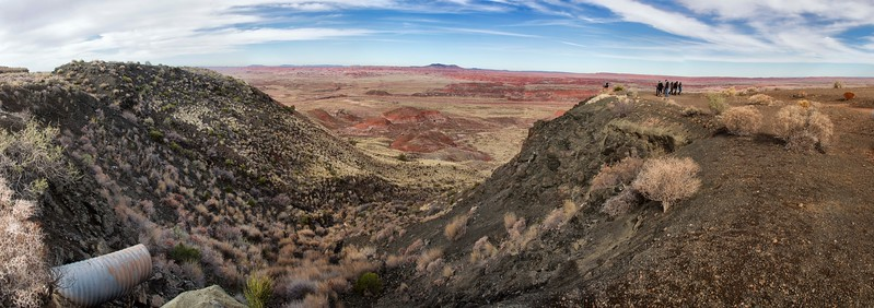 Painted Desert,  Petrified Forest National Park, Arizona
