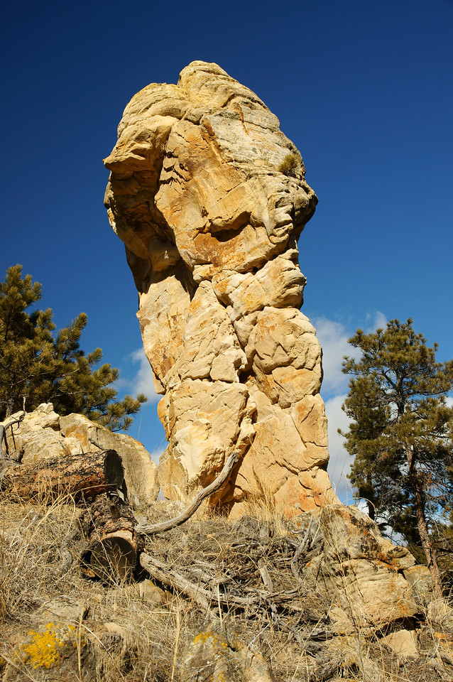 This was the start of our hike into a second canyon.  Rock hoodoo within the canyon.