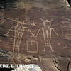Dry Forks Petroglyphs, Vernal Utah : Also, known as McConkie Petroglyphs; these are almost life size and are considered one of the best in the U.S. The petroglyphs are on private property but all you do is make a donation and is on a honor system. In others words, if you are a cheap-skate, you can get in without paying!