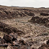 A look into another canyon full of petroglyphs.