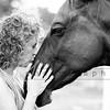 Marsha & Horse-b&w-11x16_7865