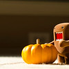 Domo and Pumpkin