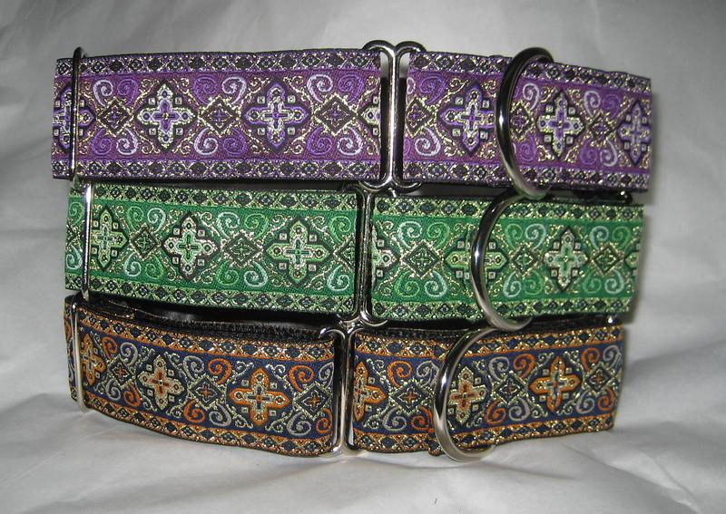 Celtic Cross, purple, kelly or orange