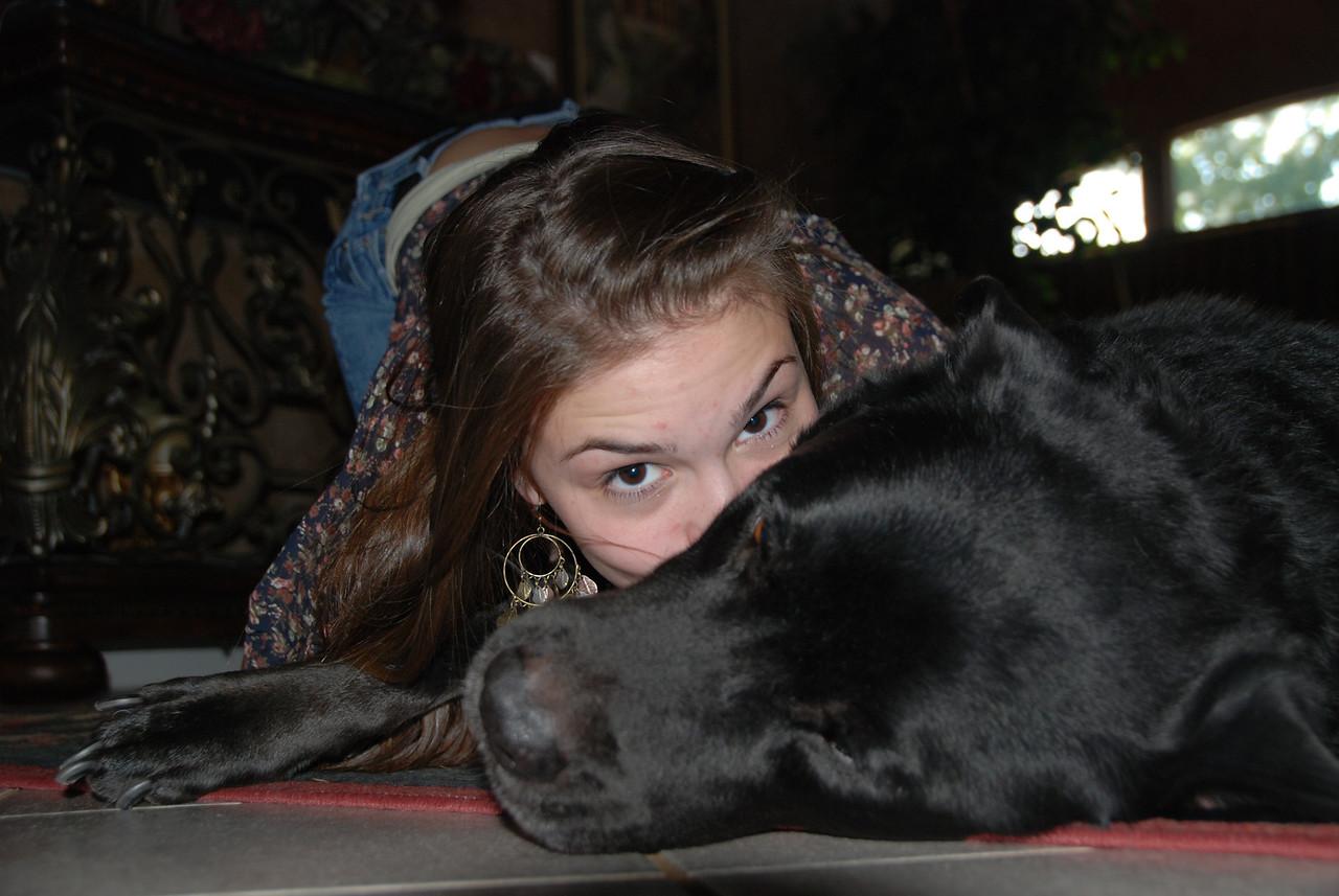 Lexi and Bear