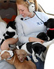 Melissa and all the pups/