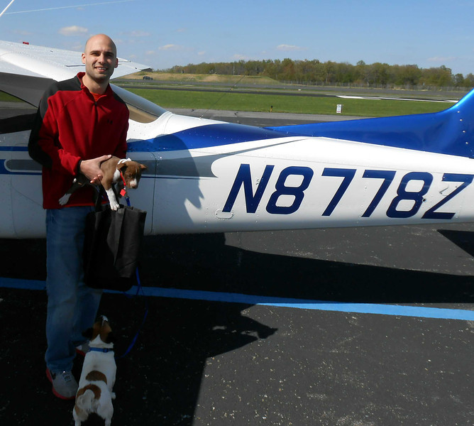 Marc and his C177