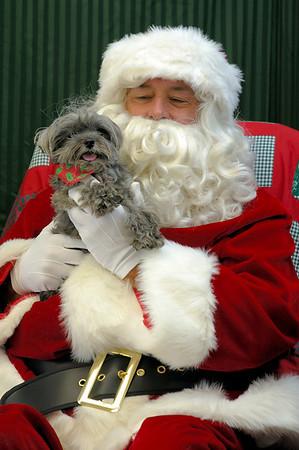 Christmas Photos at Animal Care Clinic 2007