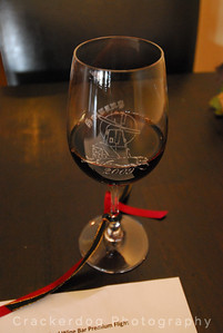 Solvang 2009 WCGG commemorative wine glass at Wilson-Bradford