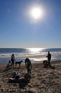 Saturday morning at Rehoboth Beach